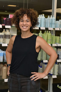 Tischa Chisholm, Master Stylist, Specializing in Curly & Trendy Hairstyles